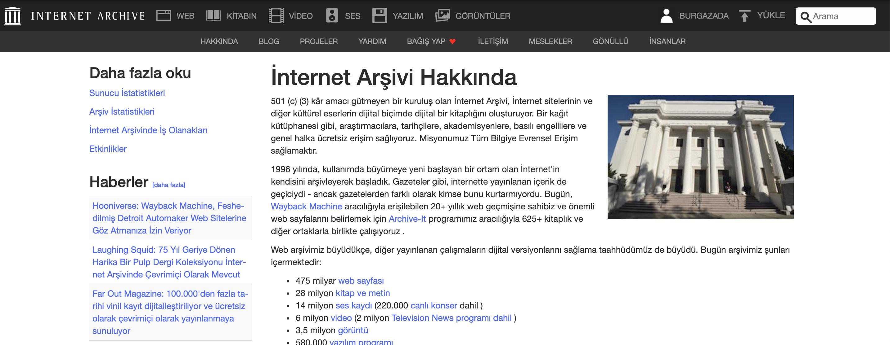 İnternet Arşiv